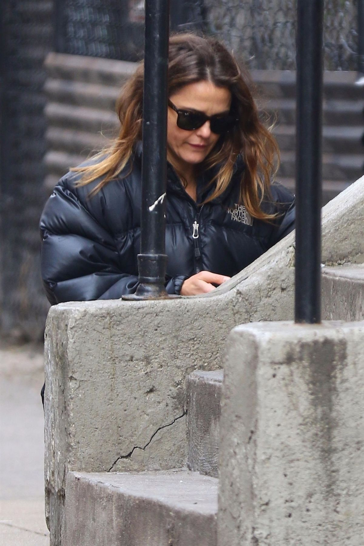 KERI RUSSELL Out Shopping in New York 01/10/2019