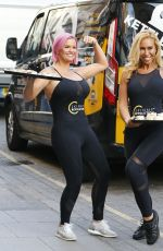 KERRY KATONA and AMPIKA PICKSTON Launch Skinny Revolution Weight Control Programme in London 01/08/2019