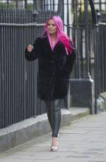 KERRY KATONA at Celebs Go Dating Agency in London 01/11/2019