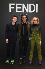 KIERNAN SHIPKA at Fendi Fashion Show in Milan 01/14/2019