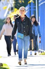 KIERNAN SHIPKA in Denim Out in Los Angeles 01/24/2019