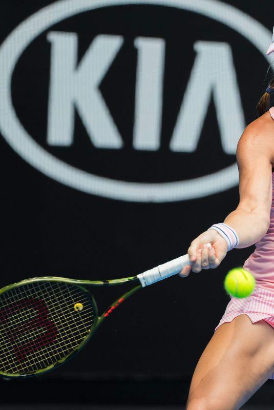 KIKI BERTENS at 2019 Australian Open at Melbourne Park 01/16/2019