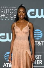 KIKI LAYNE at 2019 Citics' Choice Awards in Santa Monica 01/13/2019