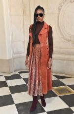 KIKI LAYNE at Christian Dior Show at Paris Fashion Week 01/21/2019