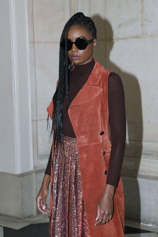 KIKI LAYNE at Christian Dior Show at Paris Fashion Week 01/21/2019