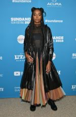 KIKI LAYNE at Native Son Premiere at Sundance Film Festival 01/25/2019
