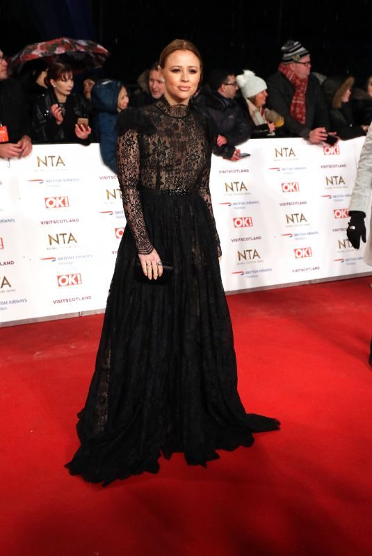 KIMBERLEY WALSH at 2019 National Television Awards in London 01/22/2019