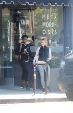 KRISTEN BELL Leaves a Gym in Los Angeles 01/24/2019