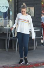KRISTEN BELL Leaves Pilates Class in Los Feliz 01/22/2019