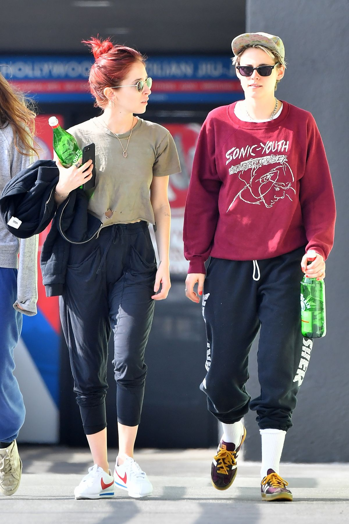KRISTEN STEWART and SARA DINKIN Leaves a Gym in Hollywood 01/11/2019
