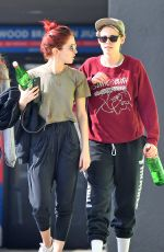 KRISTEN STEWART and SARA DINKIN Leaves a Gym in Hollywood 01/11/2019