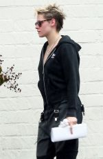KRISTEN STEWART Heading to a Salon in Los Angeles 01/16/2019