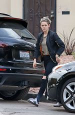 KRISTEN STEWART Out and About in Los Angeles 01/11/2019