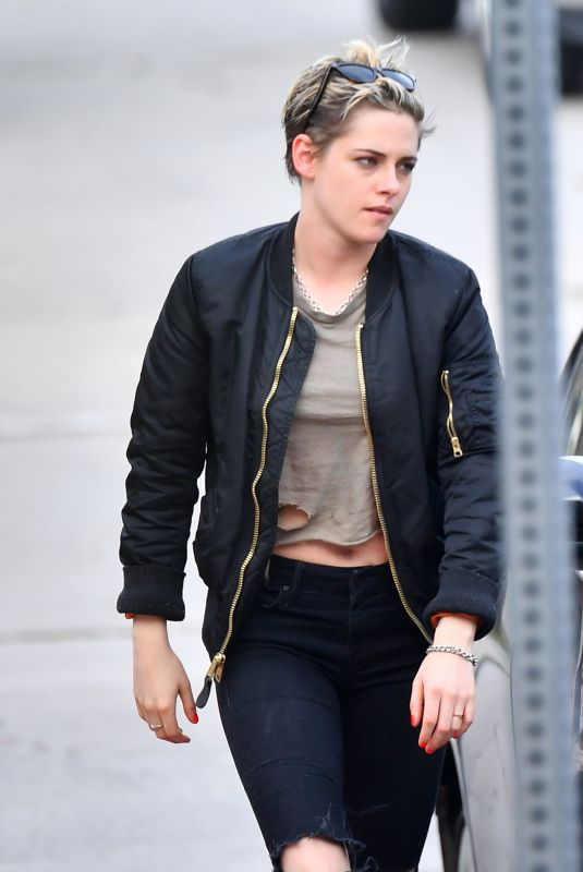 KRISTEN STEWART Out and About in Los Angeles 01/14/2019