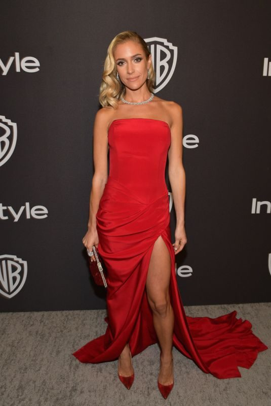 KRISTIN CAVALLARI at Instyle and Warner Bros Golden Globe Awards Afterparty in Beverly Hills 01/06/2019