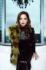 KRISTIN KREUK in Beyond Fashion Magazine, Canada January 2019