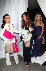 KYLE RICHARDS and TERESA GIUDICE at Andy Cohans Baby Shower in Los Angeles 01/26/2019