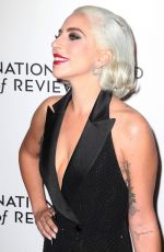 LADY GAGA at National Board of Review Awards Gala in New York 01/08/2019
