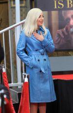 LADY GAGA at Sam Elliot Handprint Ceremony in Hollywood 01/07/2019