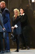 LADY GAGA Leaves A Star is Born Screening in Los Angeles 01/28/2019