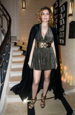 LAEITIA CASTA at Boucheron Cocktail Party in Paris 01/20/2019