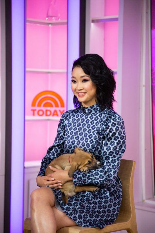 LANA CONDOR at Today Show in New York 01/11/2019