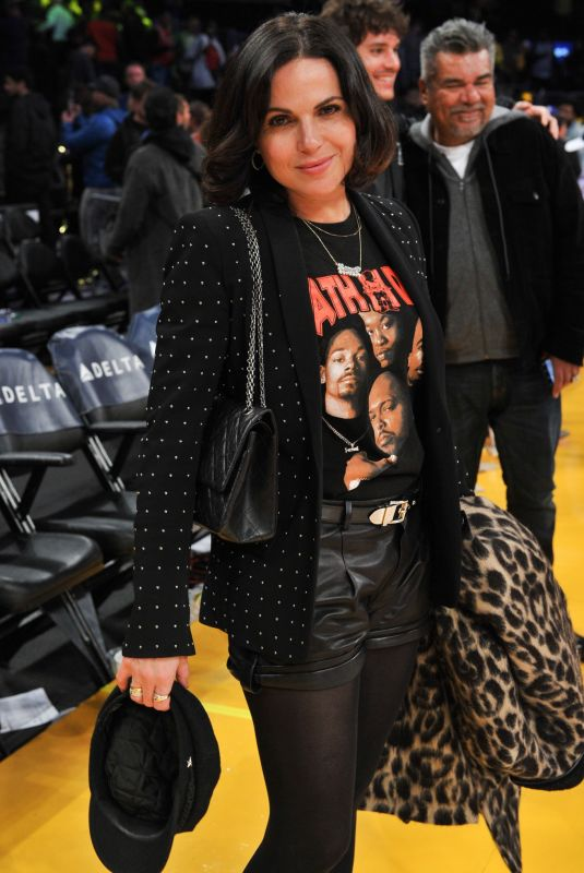 LANA PARRILLA at Los Angeles Lakers vs Chicago Bulls Game in Los Angeles 01/15/2019