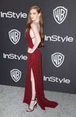LARSEN THOMPSON at Instyle and Warner Bros Golden Globe Awards Afterparty in Beverly Hills 01/06/2019