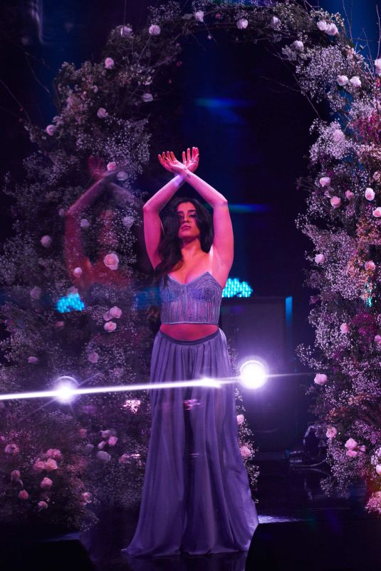 LAUREN JAREGUI Performs at Late Show with James Corden 01/22/2019