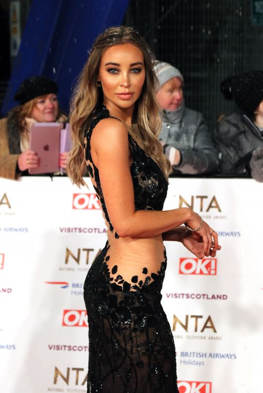 LAUREN POPE at 2019 National Television Awards in London 01/22/2019