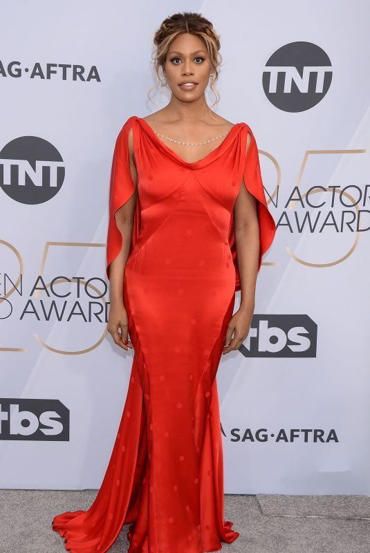 LAVERNE COX at Screen Actors Guild Awards 2019 in Los Angeles 01/27/2019