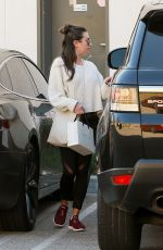 LEA MICHELE Out Sopping in Beverly Hills 01/10/2019
