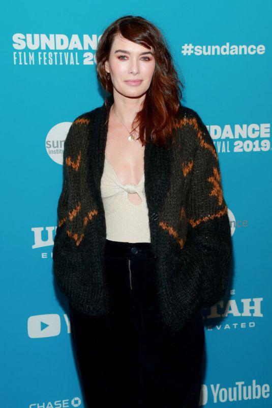 LENA HEADEY at Fighting with My Family Premiere at Sundance Film Festival 01/28/2019
