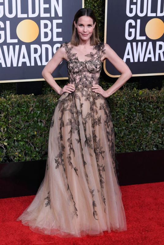 LESLIE BIBB at 2019 Golden Globe Awards in Beverly Hills 01/06/2019