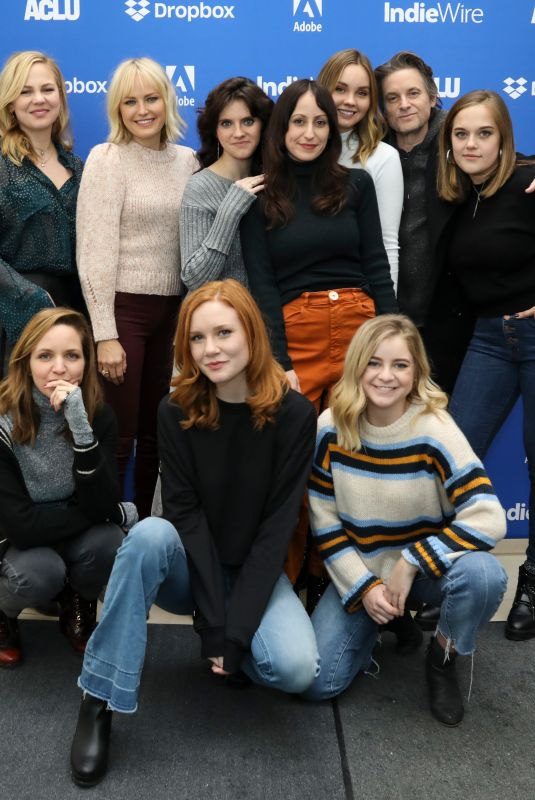 LIANA LIBERATO and KAYA HARWARD at Indiewire Sundance Studio in Park City 01/25/2019