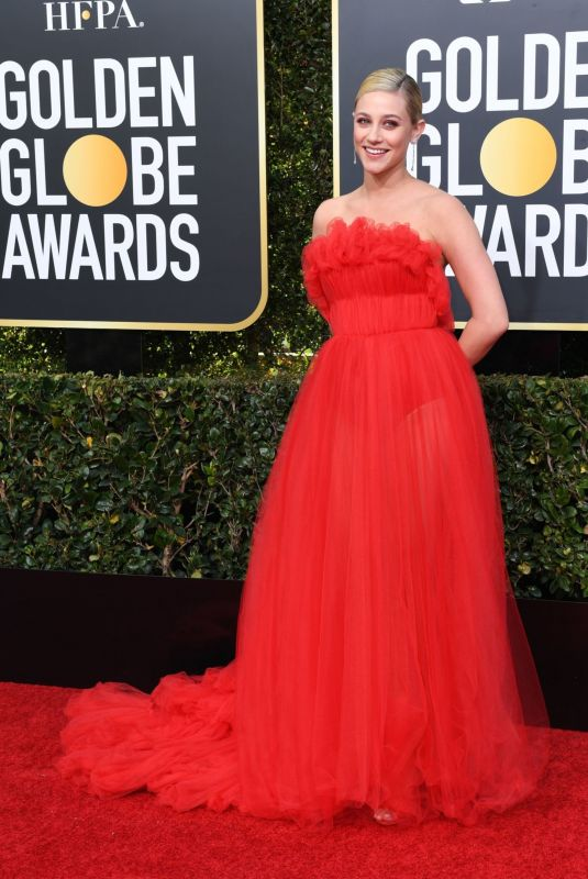 LILI REINHART at 2019 Golden Globe Awards in Beverly Hills 01/06/2019