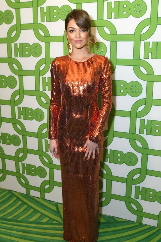 LILI SIMMONS at HBO Golden Globe Awards Afterparty in Beverly Hills 01/06/2019
