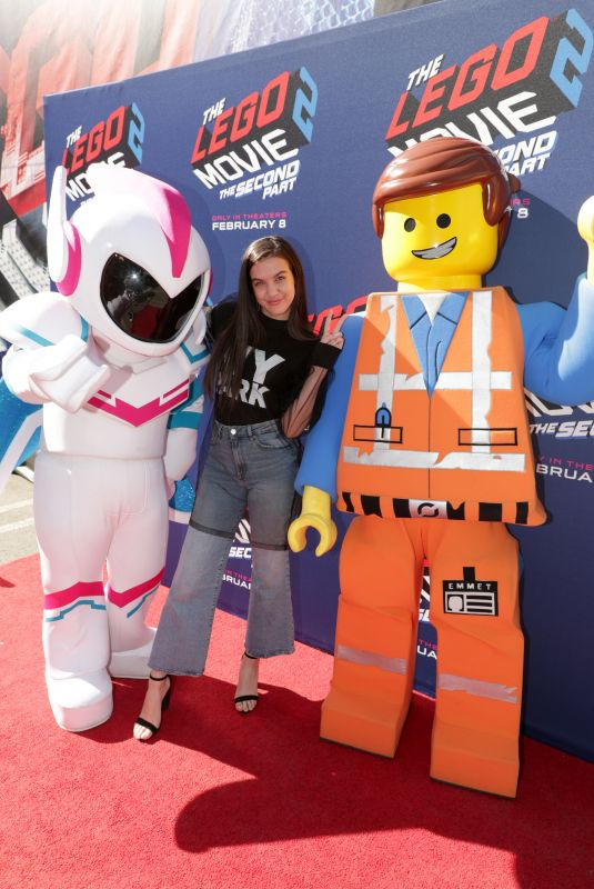 LILIMAR HERNANDEZ at Lego Space Hollywood Event 01/26/2019