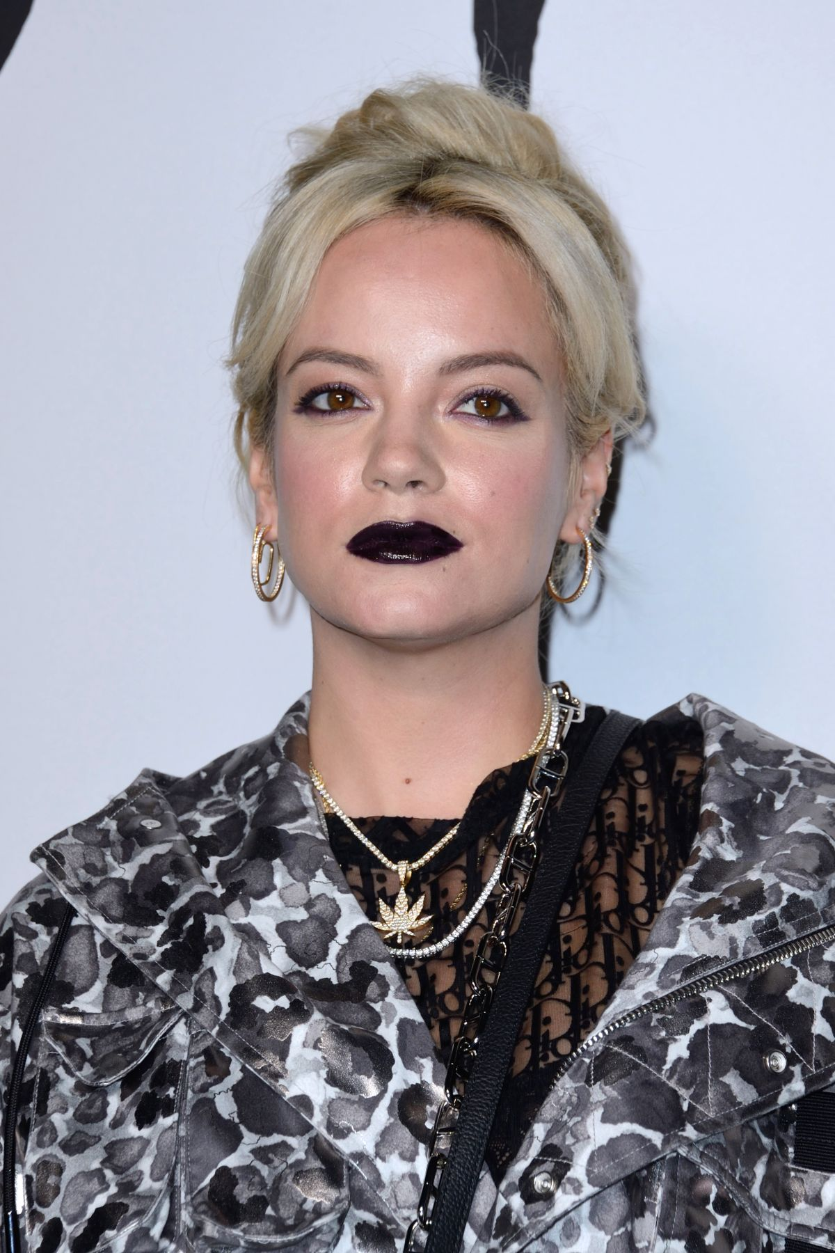 LILY ALLEN at Dior Homme Fashion Show at Paris Fashion ... Lily Allen
