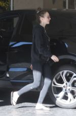 LILY COLLINS Out and About in West Hollywood 01/25/2019