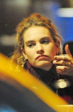 LILY JAMES and Matt Smith Night Out in New York 01/11/2019