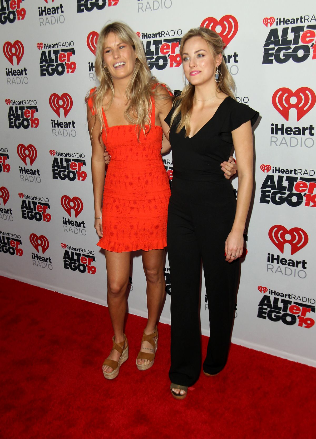 LILY MCMANUS and KENDALL LONG at 2019 Iheartradio Alter Ego