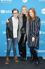 LILY RABE at Sister Aimee Premiere at Sundance Film Festival 01/26/2019