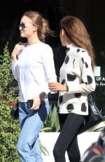 LILY-ROSE DEPP at Alfred