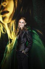 LILY-ROSE DEPP at Les Fauves Photocall in Paris 01/17/2019