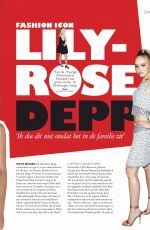 LILY-ROSE DEPP in Grazia Magazine, Netherlands January 2019