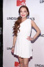 LINDSAY LOHAN at MTV Lindsay Lohan