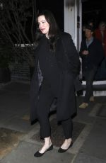 LIV TYLER Leaves Casa Cruz in London 01/11/2019