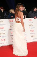 LIZZIE CUNDY at 2019 National Television Awards in London 01/22/2019