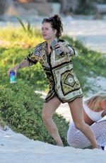 LOTTIE and ELLA ROSS at a Beach in Tulum 01/13/2019